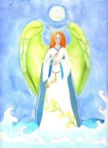 Channeling van aartsengel gabriel over de woorden die wij for Piekeren engels