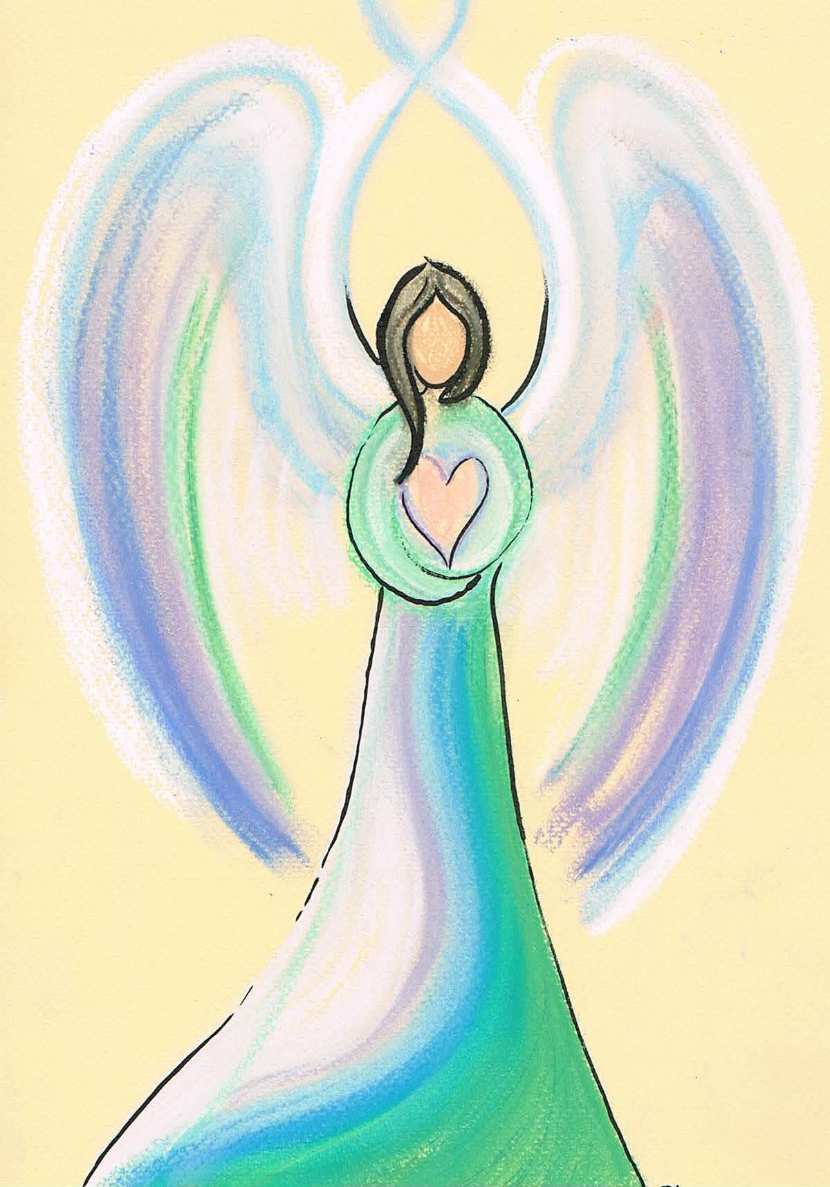 Je Beschermengel Angel Light Heart Blog