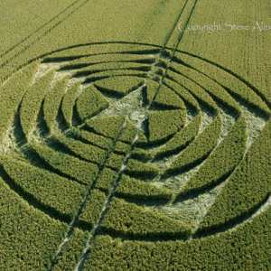 crop circle long man