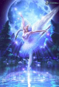 night-fairy,-wings,-ballet,-moon,-water,-swan-134764